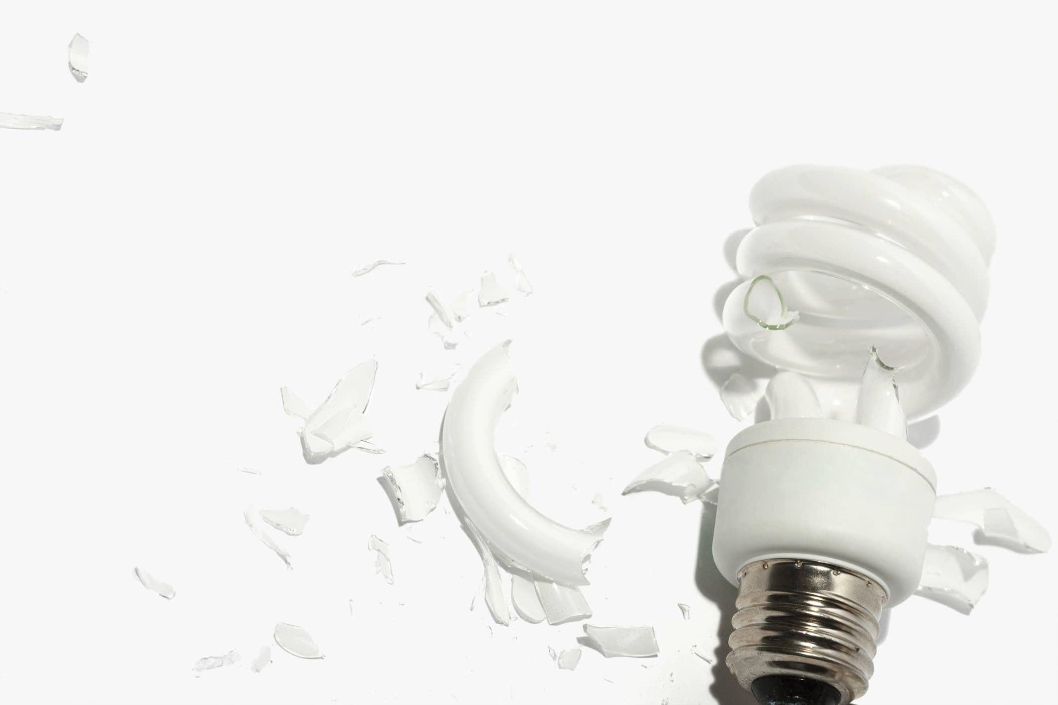 Энергосберегающая лампа, ртуть