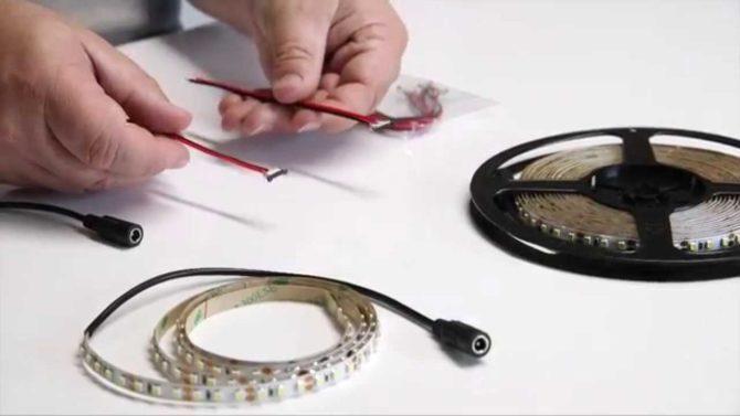 LED, интсрументы для пайки