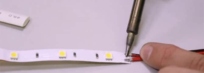 LED, ошибки пайки