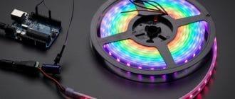 LED, arduino