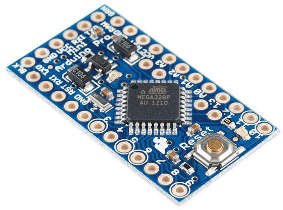 Arduino Pro Mini, led