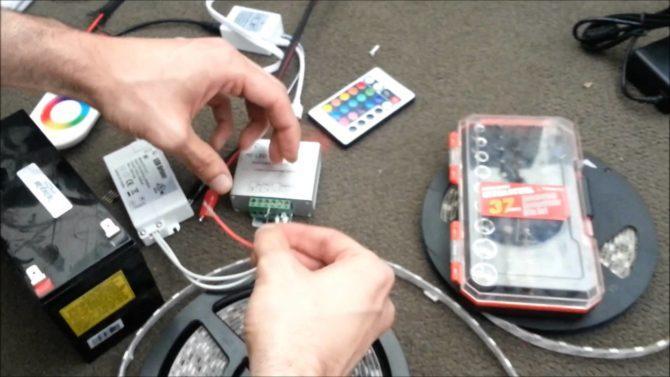 led controller, подключение