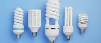 energy-saving lamps, power