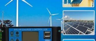 solar battery, charge controller