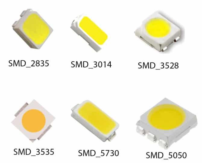 LED, SMD