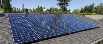 solar panels, house heating