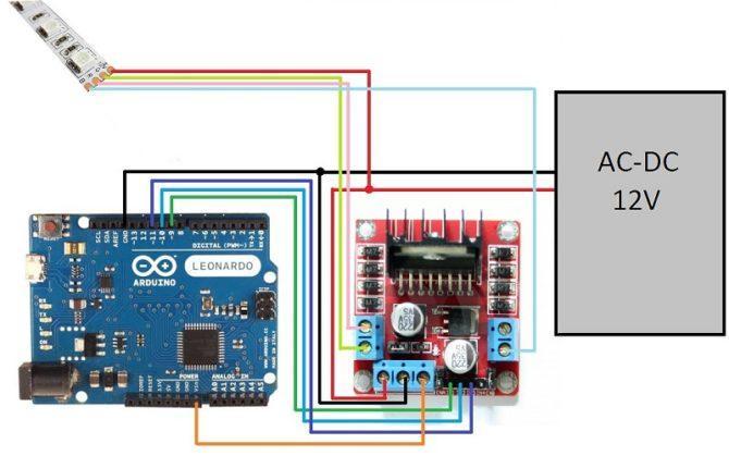 Arduino, LED