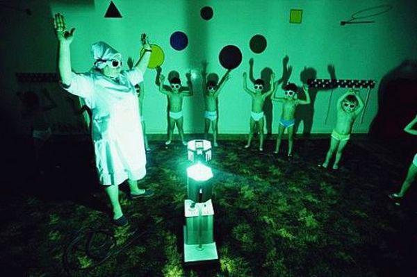 Бактерицидная лампа в детском саду