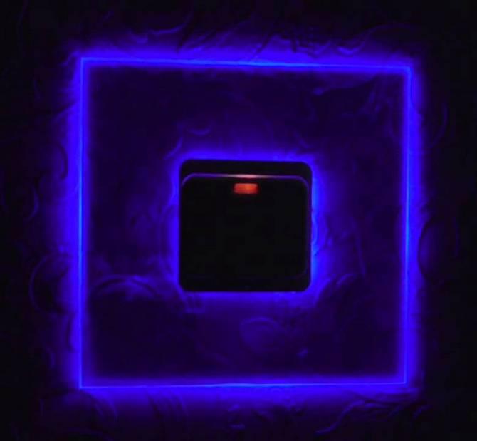 Подсветка на выключателе