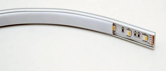 Профиль для светодиодной ленты пластик