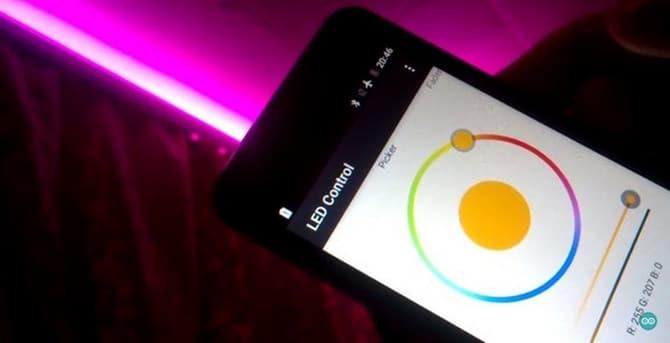 Андроид как контроллер RGB ленты