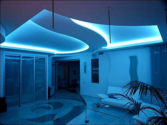 Светодиодная подсветка потолка RGB