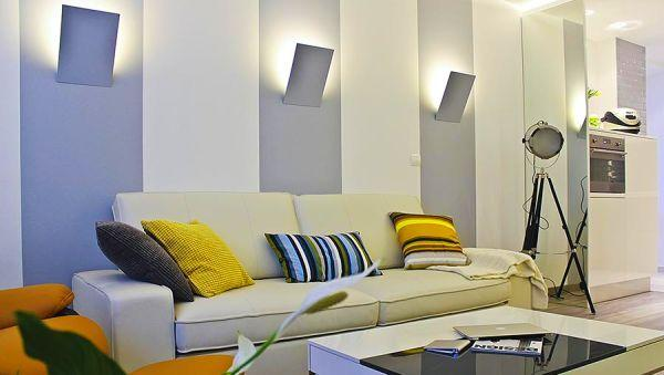 Гипсовые светильники в интерьере
