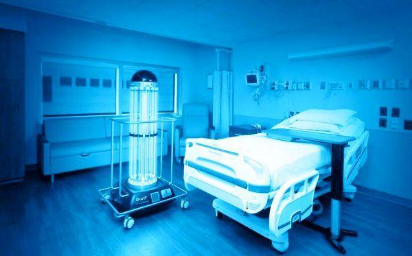 Бактерицидная лампа в больнице