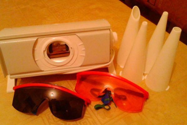 Очки для бактерицидной лампы