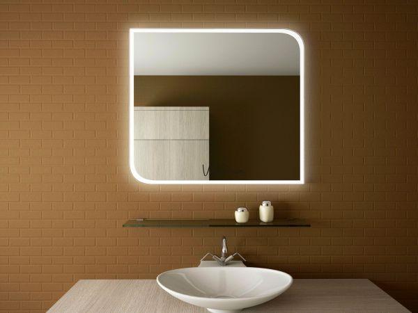 Внутренняя подсветка зеркала