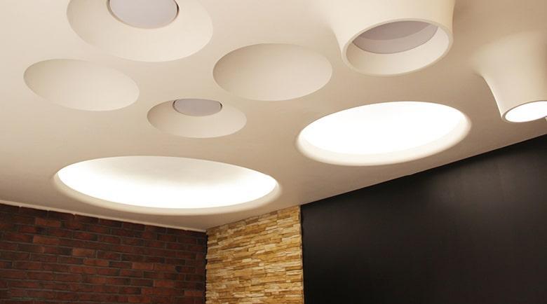 Гипсовые светильники: советы по выбору и установке