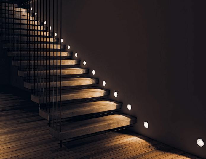 Подсветка ступеней