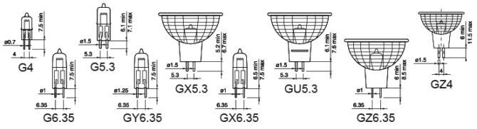 Лампы с Цоколем g4 и их особенности