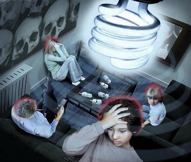 лампа клл без защитного слоя