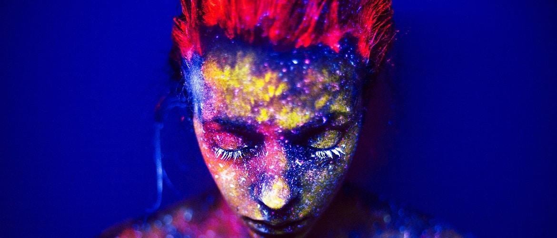 краска на теле
