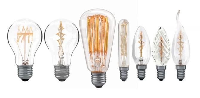 Что такое филаментные лампы и в чем их особенность