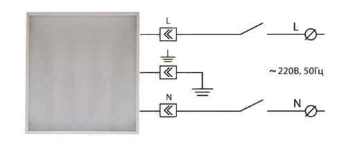 Правильный монтаж светильников в потолок армстронг