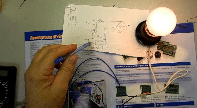 Как продлить срок службы лампы накаливания схема фото 442