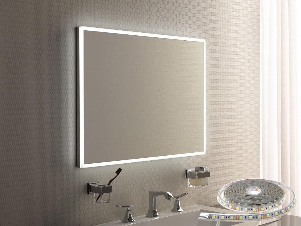 Подсветка зеркала, светодиодная лента