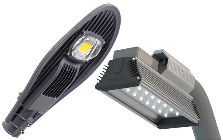 приборы уличного освещения