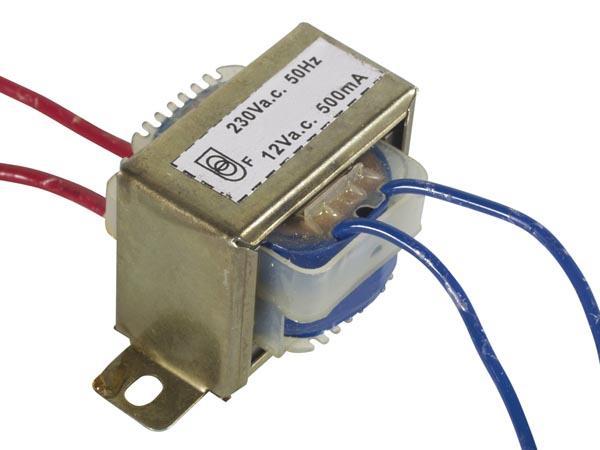 трансформатор с 220 на 12 В
