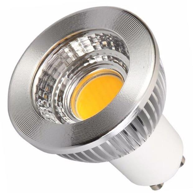 Светодиодная лампа-прожектор с цоколем GU10