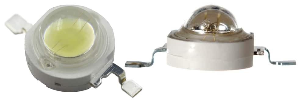 Осветитель, собранный на таких полупроводниках, может не иметь собственной фокусирующей системы