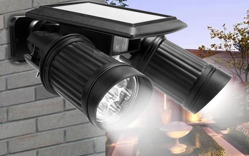 Как подключается уличный светильник с датчиком движения?
