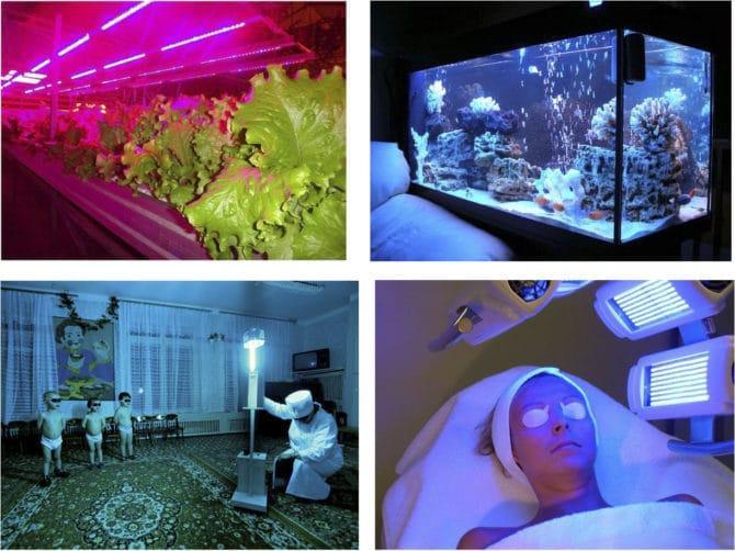 ультрафиолетовые ламп спектра А