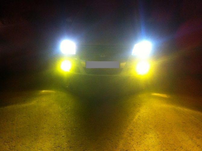 Желтый свет h3