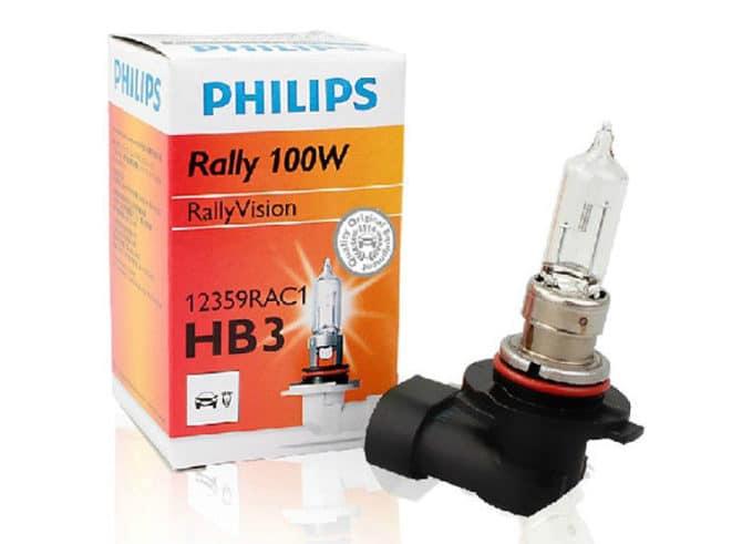 Галогенка HB3 от PHILIPS