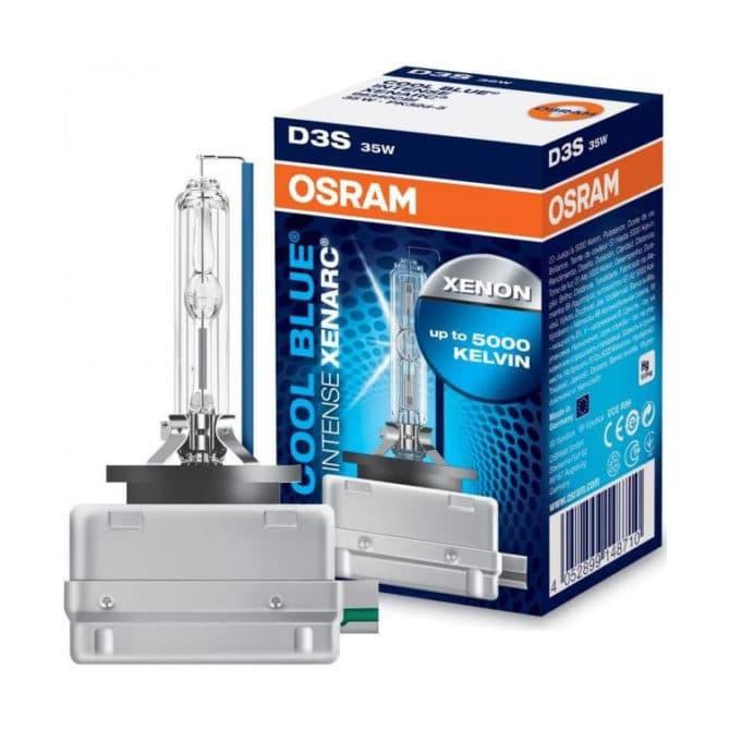 Ксеноновая лампа hb3 от Osram