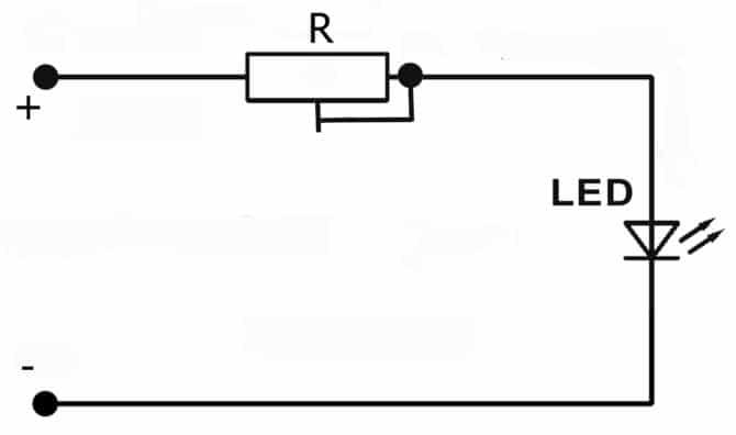 Схема регулировки тока