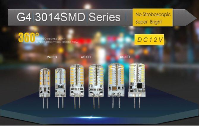 Лампа со светодиодами SMD 3014