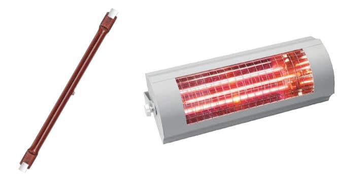 ИК-галогенная лампа