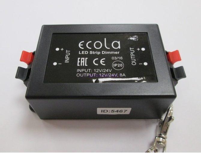 Диммер от фирмы Ecola