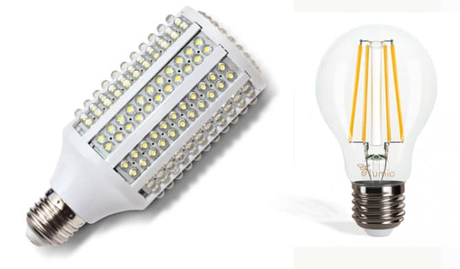 Светодиодные лампочки 330 градусов