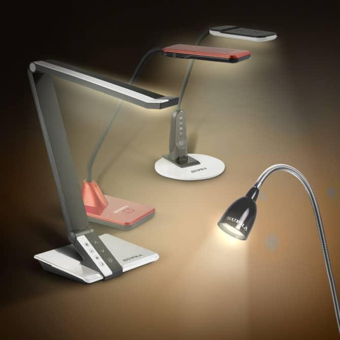 Светодиодные настольные лампы