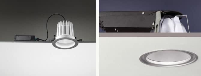 встраиваемый точечный осветитель