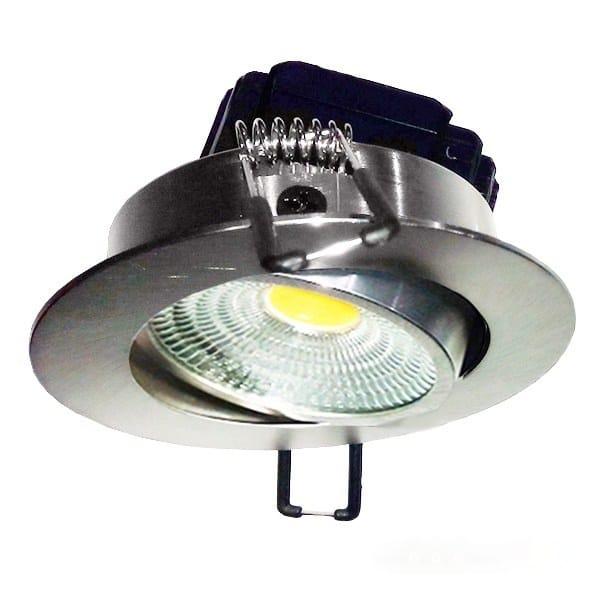 точечный светильник с поворотной системой
