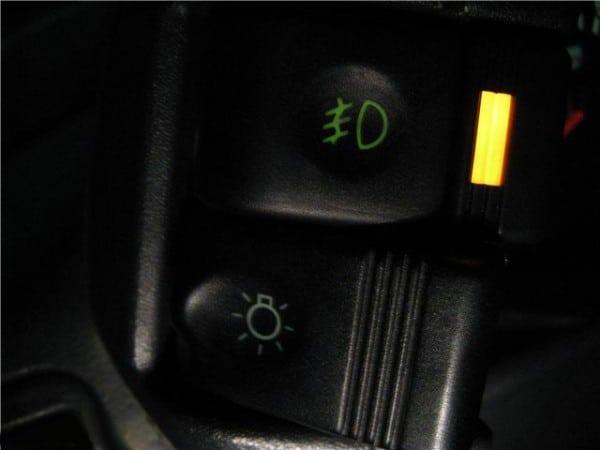 Кнопки на панели ВАЗ 2110