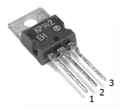 Микросхема КР142ЕН8Б