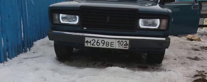 ВАЗ 2107 с АГ