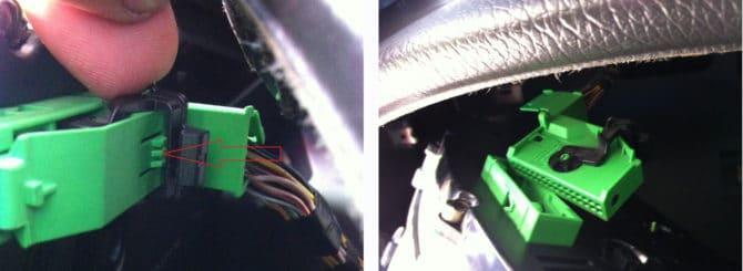 разъем питающего ПП кабеля